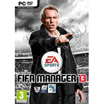 Game Fifa Manager 13 / 2013 - Pc Dvd Box - Original Lacrado