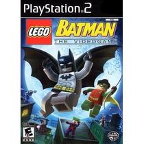 Jogo Ps2 - Lego Batman