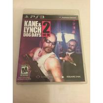 Kane E Lynch 2 Dog Days Ps3 Melhor Preço Impativel