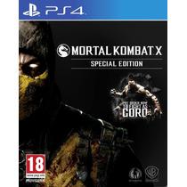 Mortal Kombat X Ps4 Secundária Em Pt/br Bônus Na Pré-venda