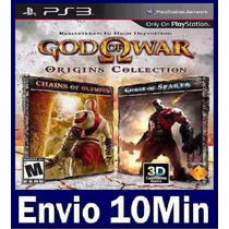 God Of War Origins Collection Ps3 Código Psn