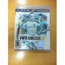 Jogo Fifa Soccer 12 Ps3- Original Lacrado!