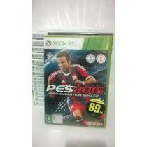 Pes 15 Xbox 360 Original Português Rcr Games