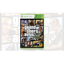 Gta V Grand Theft Auto 5 Xbox 360 Português- Novo