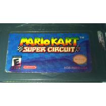 Fita Game Boy Advance Sp Micro Ds Mario Kart Super Circuit
