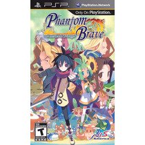 Phantom Brave: The Hermuda Triangle Psp Lacrado Black Label