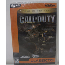 Call Of Duty Jogo Pc Original Lacrado