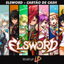 Elsword Cartão 1800 Cash Revendedor Levelup Envio Imediato