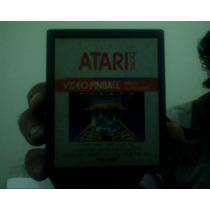 Fita Game Atari Vídeo Pinball 1983 Original