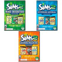 3 Jogos The Sims 2 - Para Pc