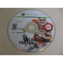 Ncaa Football 09 Original Somente O Disco Xbox 360
