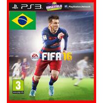 Fifa 16 Ps3 Psn Dublado 100 % Portugues Br Original