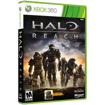 Jogo Xbox 360 Halo Reach Em Portugues Original
