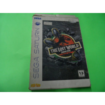 The Lost World Jarassic Park Original Sega Saturn Saturno