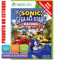Sonic Sega All Stars Racing Banjo Kazooie Xbox 360 Original