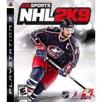 Jogo Novo Lacrado Nhl 2k9 Para Playstation 3 Ps3