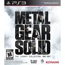 Metal Gear Solid The Legacy Collection Ps3 Novo Lacrado