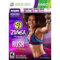 Zumba Fitness Rush - Xbox 360 - Novo E Lacrado!