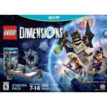 Novo Lacrado Starter Pack Lego Dimensions Nintendo Wii U