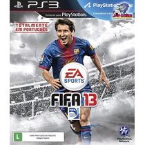 Jogo Ps3 - Fifa 13 - Usado