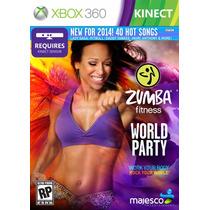 Zumba Fitness World Party Xbox 360 Kinect - Frete Grátis