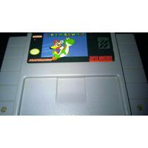 Fita Original Super Nintendo Super Mario World 1 Salvando!