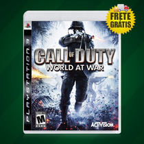 Call Of Duty World At War Platinum Ps3 - Frete Gratis