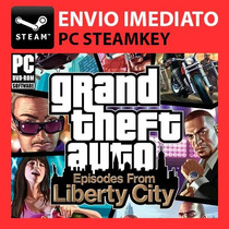 Gta 4 + 1 Dlc Grátis Steam Key Pc Original / Gta V 5