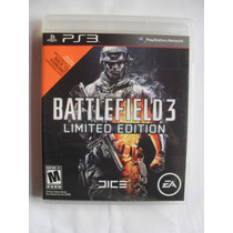 Battlefield 3 Limited Edition Para Playstation 3 Com Manual