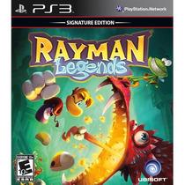 Rayman Legends Signature Edition Ps3 Original Mídia Física