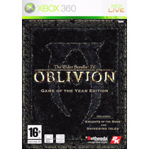 The Elder Scrolls 4 Iv Oblivion Game Of The Year Xbox 360