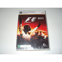 Formula 1 F1 2011 Codemasters Original Lacrado Pc