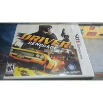 Driver Renegade Seminovo Nintendo 3ds