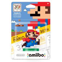 Amiibo Mario Modern Color Blue Nintendo Wiiu 3ds 2ds Maker