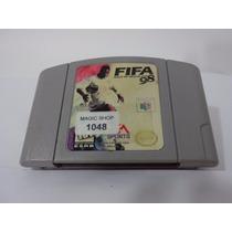 Fifa 98 - Jogo De Nintendo 64 Original