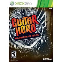 Jogo Guitar Hero Warriors Of Rock Dvd Original Xbox 360