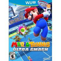 Jogo Novo Mario Tennis Ultra Smash Para Nintendo Wii U