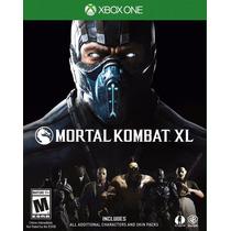 Mortal Kombat Xl Xbox One Mídia Física Original Lacrado Novo