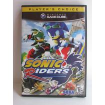 Sonic Riders - Jogo Gamecube Original Completo Americano