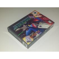 Caixa Star Fox N64 + Berço Incluso!!!!!