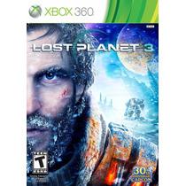 Lost Planet 3 Jogo Xbox 360 Original Lacrado