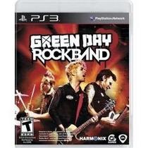 Jogo Novo Lacrado Green Day Rock Band Para Playstation 3