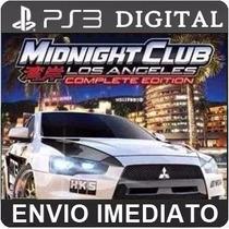 Midnight Club Los Angeles Play3 Ps3 Psn Digital