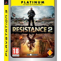 Resistance 2 Português Fretegrátis Sdgames Jogo Ps3 Garantia