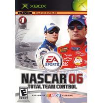 Jogo Ea Sports Nascar 06: Total Team Control Para Xbox A6207