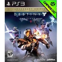 Destiny: The Taken King - Ps3 - Jogo + 3 Dlcs- Gamesgo