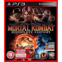 Mortal Kombat Komplete Edition Ps3 Psn Portugues Br