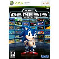 Sonic Ultimate Genesis Collection Jogos Mega Drive No X360