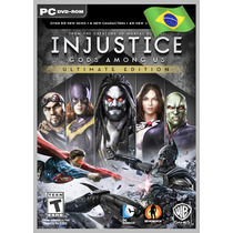 Injustice Gods Among Us Ultimate Edition 100% Portugues