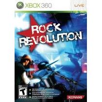 Jogo Xbox360 - Rock Revolution (original/frete:r$5 Depósito)